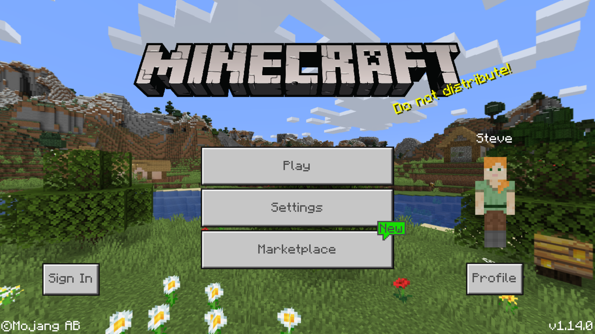 Bedrock Edition 1.14.0 – Official Minecraft Wiki