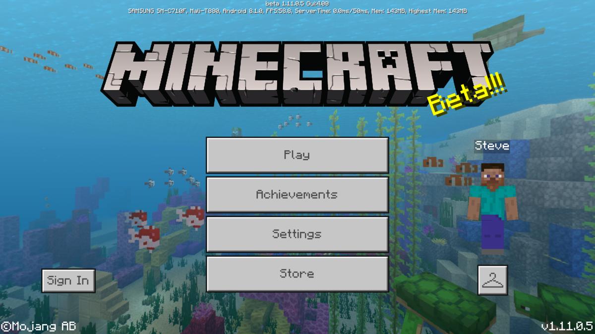 Bedrock Edition beta 1.11.0.5 – Official Minecraft Wiki