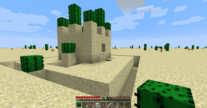 Tutorials/Survival in an infinite desert – Official Minecraft Wiki