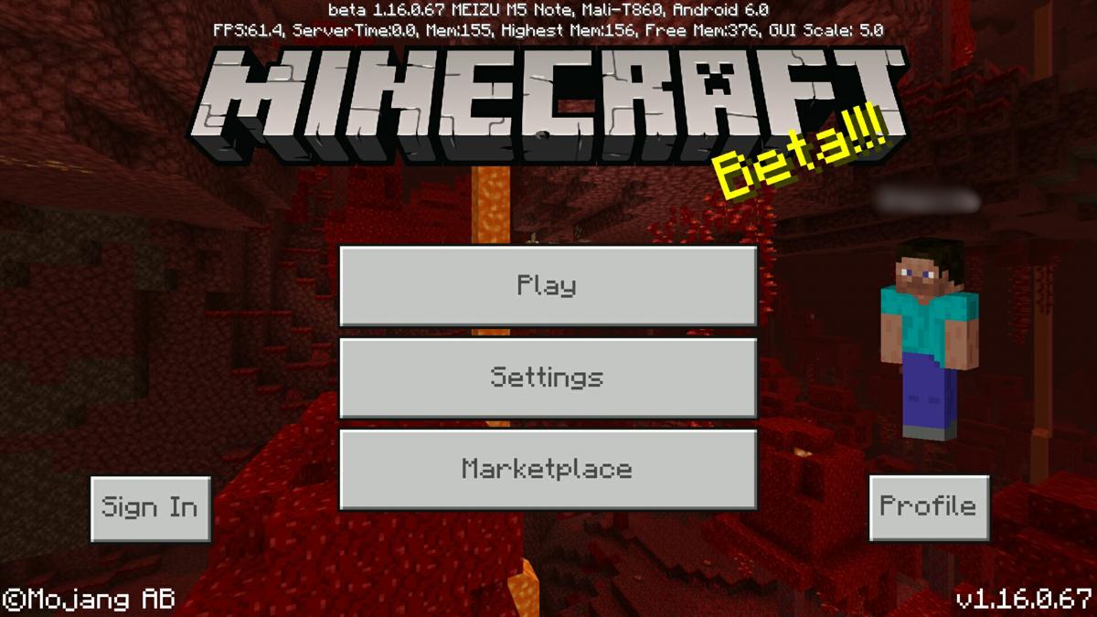 Bedrock Edition beta 1.16.0.67 – Official Minecraft Wiki