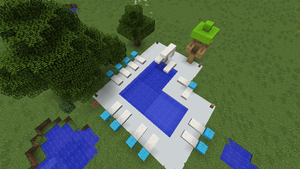 Tutorials Building Water Features Official Minecraft Wiki