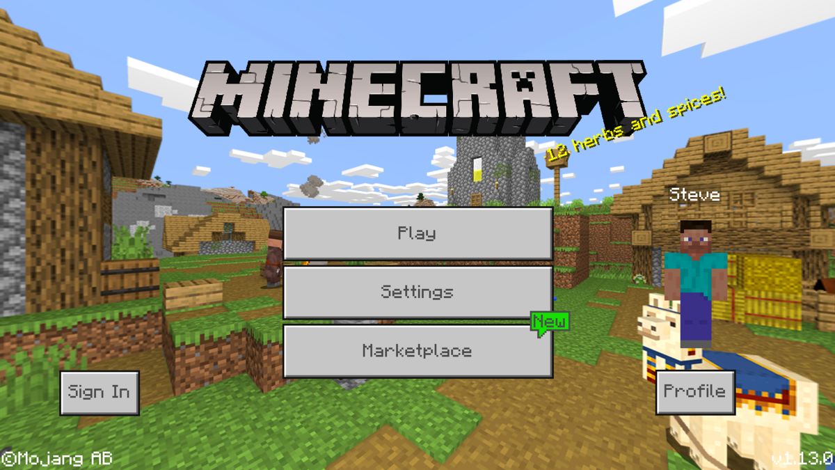 Bedrock Edition 1.13.0 – Official Minecraft Wiki