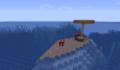 A small mushroom island