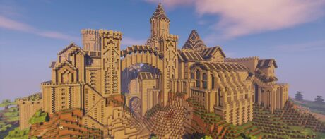 Tutorials Building A Metropolis Official Minecraft Wiki