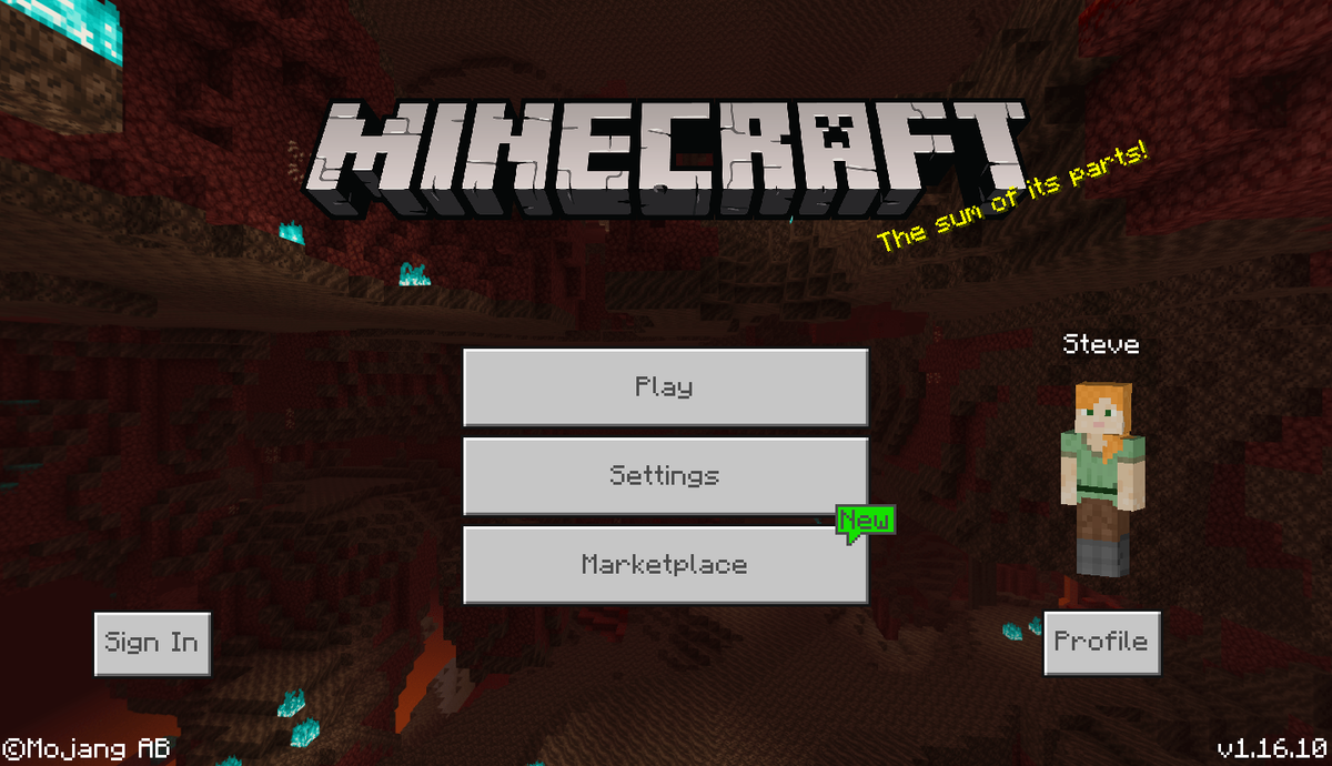 Bedrock Edition 1.16.10 – Official Minecraft Wiki