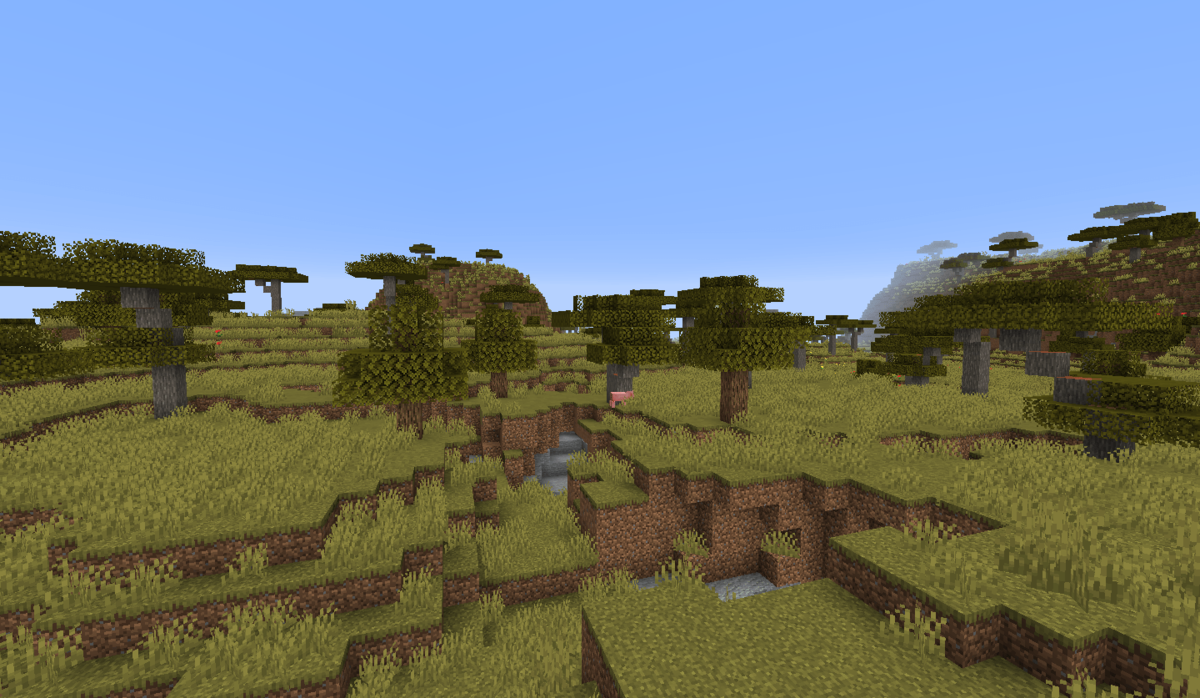 Savanna – Official Minecraft Wiki