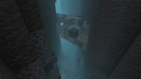 Fossil in a ocean ravine.png