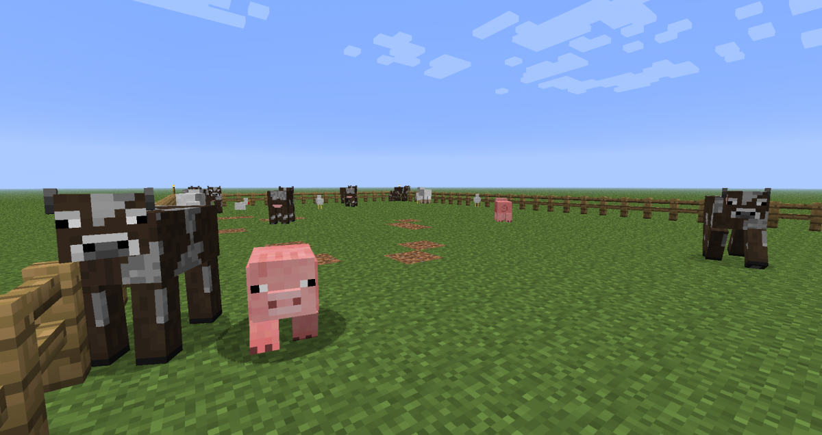 Image of: Farm Tutorialsanimal Farming From Minecraft Wiki Minecraft Wiki Gamepedia Tutorialsanimal Farming Official Minecraft Wiki