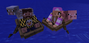 Boat – Official Minecraft Wiki