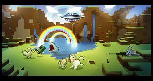 Minecraft 2.0 Banner
