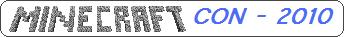 MinecraftCon 2010 のロゴ