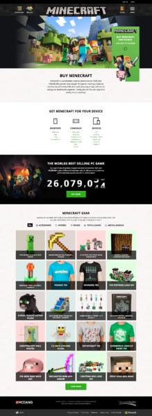 ファイル:Minecraft.net 2.0 Store.png