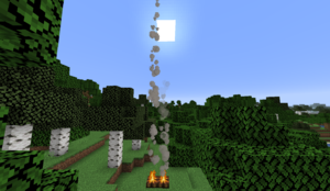 minecraft wikia campfire
