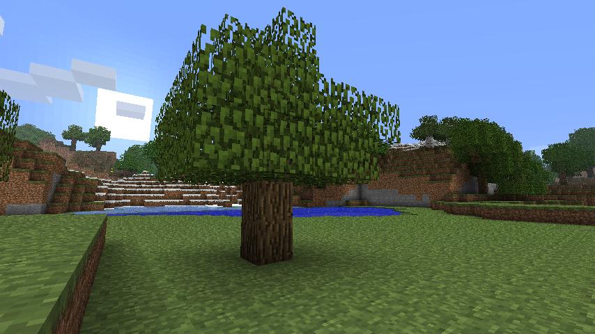 звук дерева в майнкрафте #8