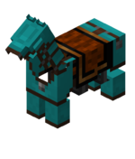 Cyan Leather Horse Armor.png