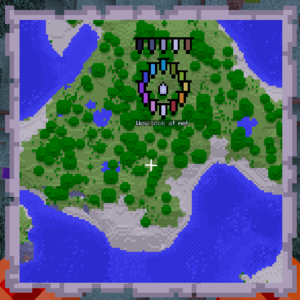 이름을 붙인 현수막 포함, 모든 현수막이 지도에 표시된다.