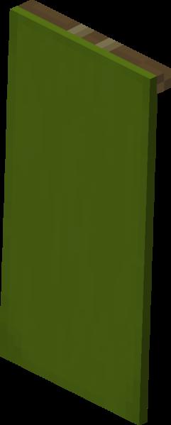 Plik:Zielona chorągiew naścienna.png