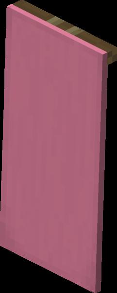 Plik:Różowa chorągiew naścienna.png