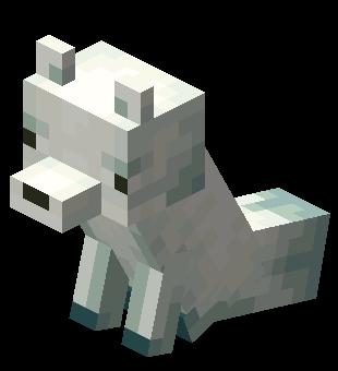 Plik:Siedzący śnieżny lis.png