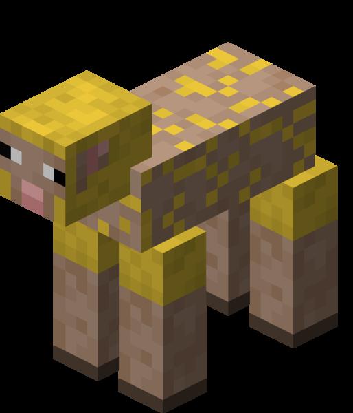 Plik:Owca ostrzyżona żółta.png