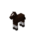 Darkbrown Baby Horse with White Stockings.png