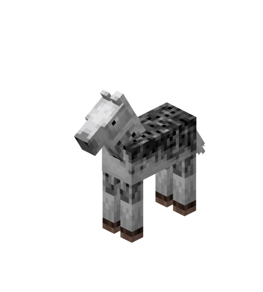 Plik:White Baby Horse with Black Dots.png