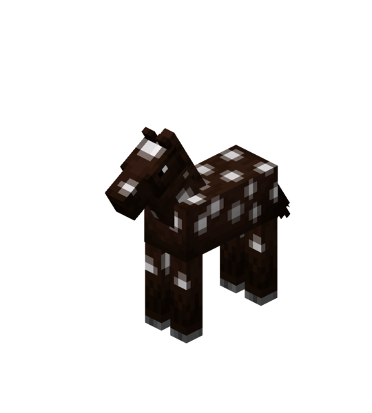 Plik:Darkbrown Baby Horse with White Spots.png