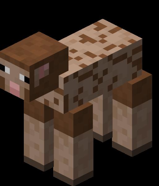 Plik:Owca ostrzyżona brązowa.png