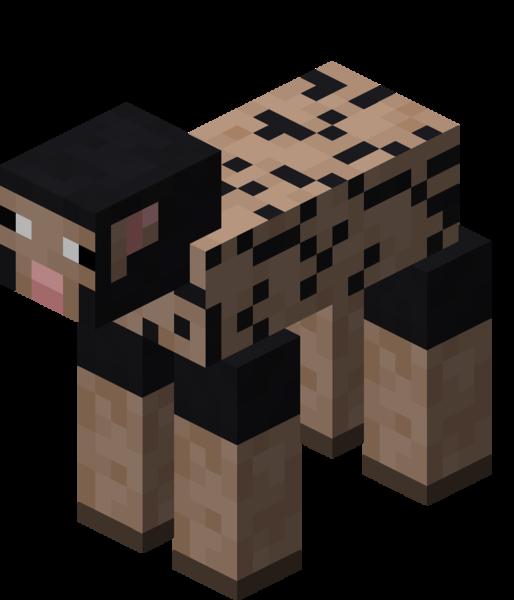 Plik:Owca ostrzyżona czarna.png