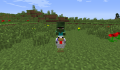 A villager chicken jockey.png