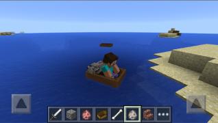 Как сделать в майнкрафте лодку с веслами фото 724