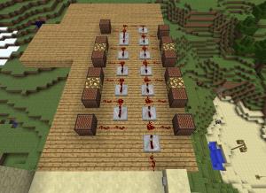 Minecraft как сделать нотный блок фото 487