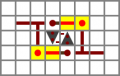Redstone manual - scheme two-way repeater.png