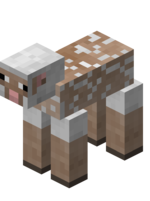 Белая стриженная овца.png
