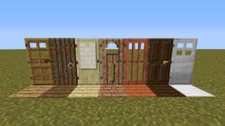 Как сделать в minecraft дверь 609