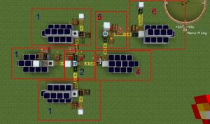 Вид на генератор алмазов среднего размера