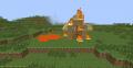 Горящий деревянный дом возле лавы.png