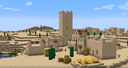 Пустынная деревня с версии 1.14 на MINECON Earth 2018.png