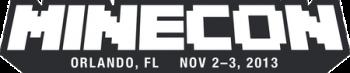 MineCon 2013 logo