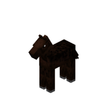 Baby Darkbrown Horse with Black Dots.png