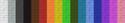 Beta羊毛颜色色谱