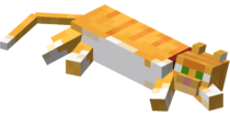 Lying down Red Tabby Cat with Red Collar.png