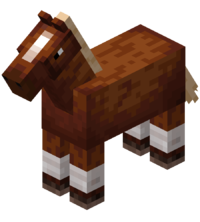 Chestnut Horse with White Stockings JE5 BE3.png