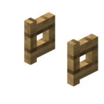 Oak Fence Gate (Opened) JE1 BE1.png
