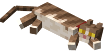 Lying down Tabby Cat with Red Collar.png