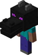 Steve wearing Dragon Head.png