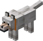 Tamed Wolf with Orange Collar.png