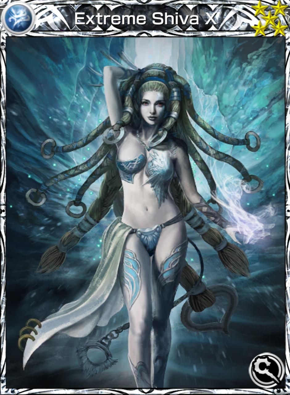 Extreme Shiva X (Card) - Mobius Final Fantasy Wiki