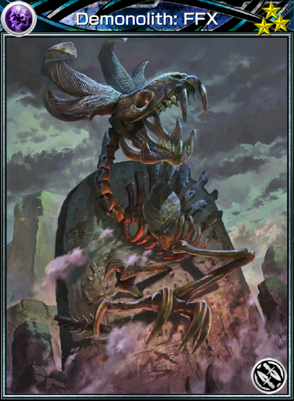 Demonolith Ffx Card Mobius Final Fantasy Wiki