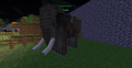 African elephant with harness.png